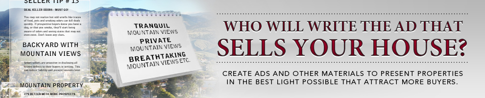 Who Will Write The Ad That Sells Your House?
